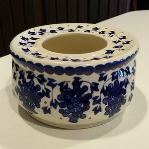 Other - Polish Blue & White Pottery Teapot Warmer